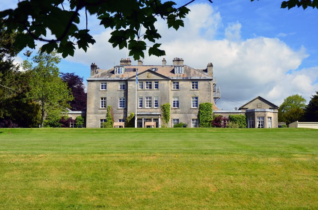 Castle Craig is nestled into 200 acres of beautiful countryside